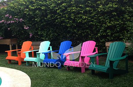 Mundo garden sillones de jardin for Sillones de madera para jardin