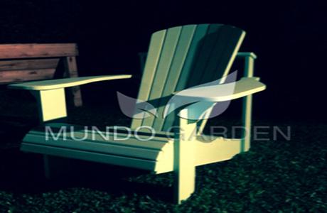 Mundo garden sillones adirondack for Sillones de madera para jardin