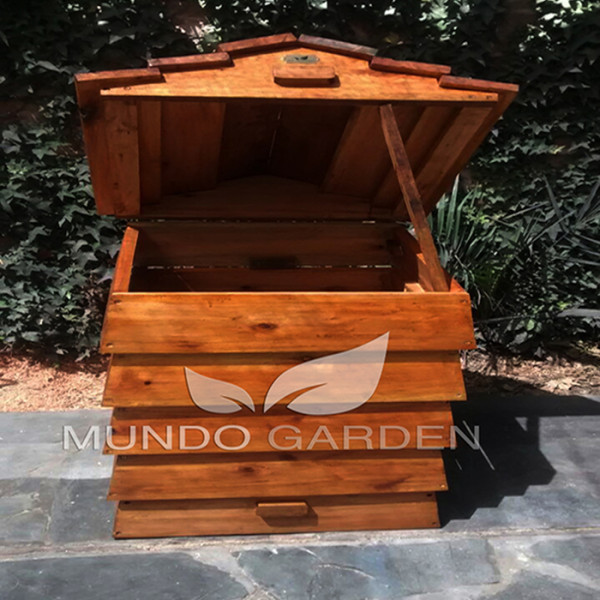 compost mundo garden tapa abierta