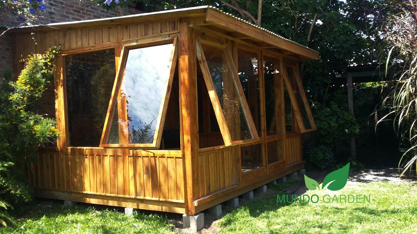Mundo garden jard n de invierno living exterior for Cortinas para jardin de invierno